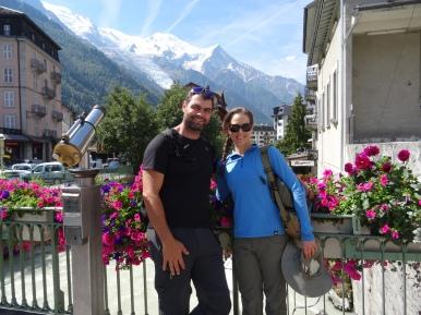 In Chamonix.