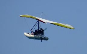 It's a....flying boat?
