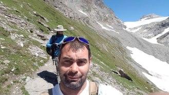 Hike to view La Meije, a 13,071-ft (3,984-m) mountain in Parc national des Écrins.